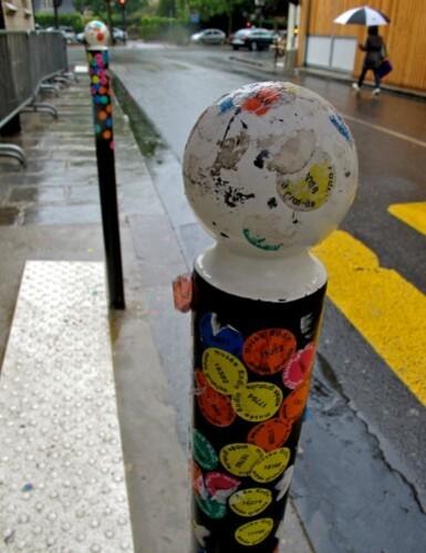 Musée Rodin stickers street-art 1