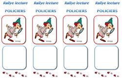 Rallye lecture Romans policiers CE1 CE2