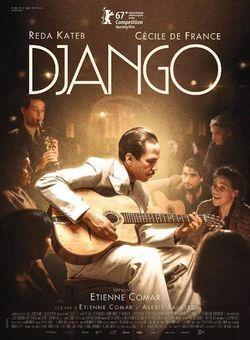 Affiche du film Django d'Etienne Comar