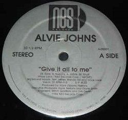 Alvie Johns - Give It All To Me