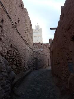 Une rue de l'ancien village