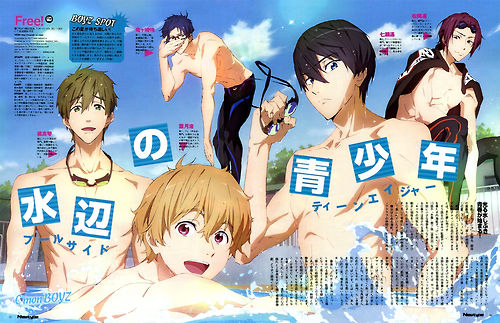 Free!, vostfr, swimming anime