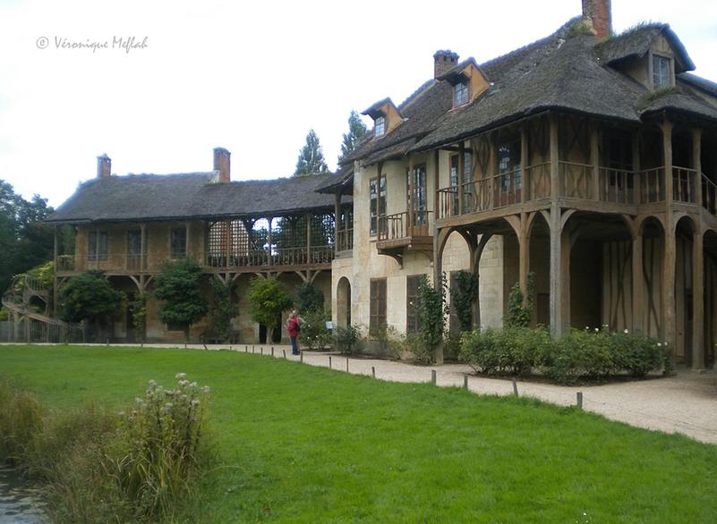 Versailles : Le Domaine de Marie-Antoinette : La maison de la Reine et billard