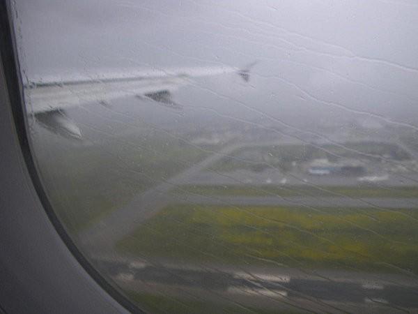 Vol Boa Vista-Paris on décolle de Casablanca sous la pluie