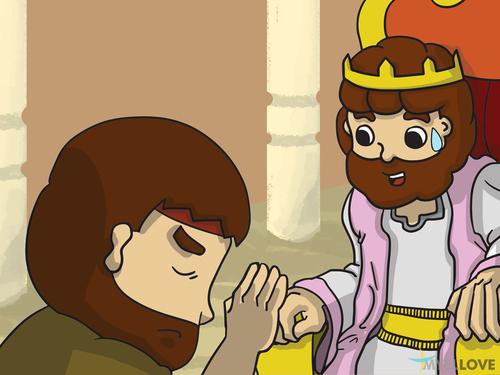 Le péché de David avec Bathsheba