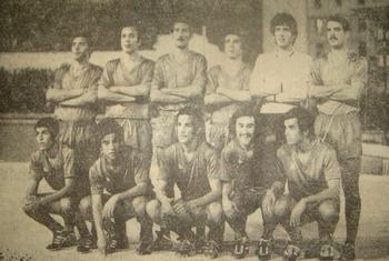 Les vainqueurs de la coupe du Maghreb 1971