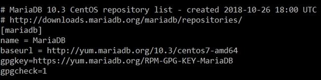 Installer MariaDB 10 sur Centos 7