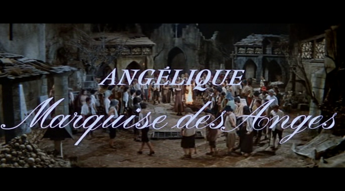 ANGELIQUE MARQUISE DES ANGES - BERNARD BORDERIE