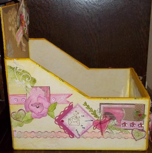 Scrap -  Un présentoir à carterie et la nouvelle Bigshot, un cadeau