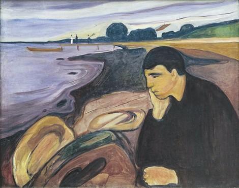 Edvard Munch mélancolie