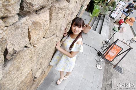 WEB Gravure : ( [G-AREA] -   PERFECT-G No.589   Kurumi/くるみ : ロリ巨乳なむちむち大学生。愛撫&玩具でツルツルワレ目は汁ダク状態 )