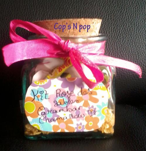 Cadeau gourmand: kit à rose des sables carambar et chamallow