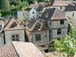 La village de Saint-Cirq-Lapopie
