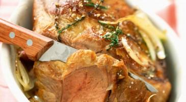 Recette avec astuces de Lignac : Gigot d'agneau rôti à la provençale