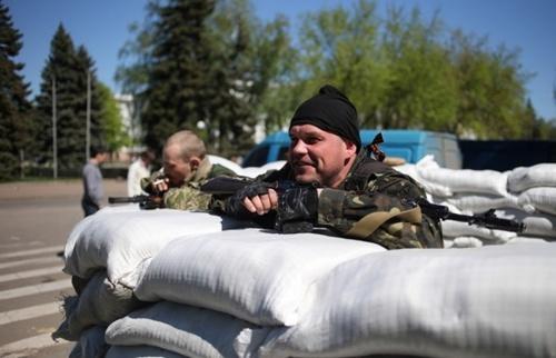 C'est la guerre , les communistes ukrainiens appellent à combattre la junte