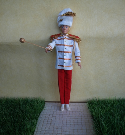 Barbie vintage : Drum Majorette - Drum Major - Cheerleader