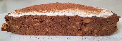 BROWNIES fondants patate douce & farine complète au cacao, cacahuètes rôties, dattes & Xylitol