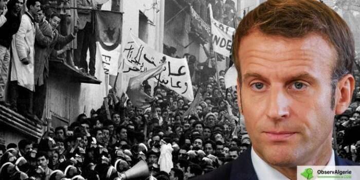 France : Emmanuel Macron évoque   de nouveau la guerre d'Algérie