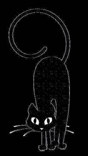 Tubes Automne 2015 - thème Halloween Les chats noirs page 14
