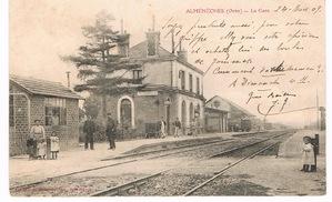 LE CHATEAU D'ALMENECHES (rive droite)