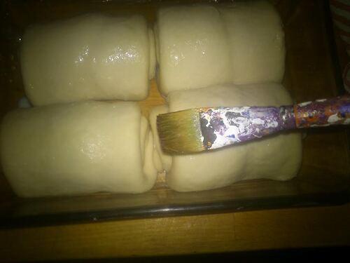Brioche Tang Zhong {Vegan} , ou la meilleur brioche que j'ai jamais faite (au dire des mes hommes^^)