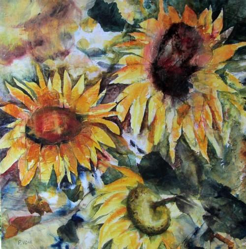 """L""""été en fugue: un tableau qui sera à l'exposition des artistes de Hudson la fin de semaine du18-19 et 20 octobre 2013"""