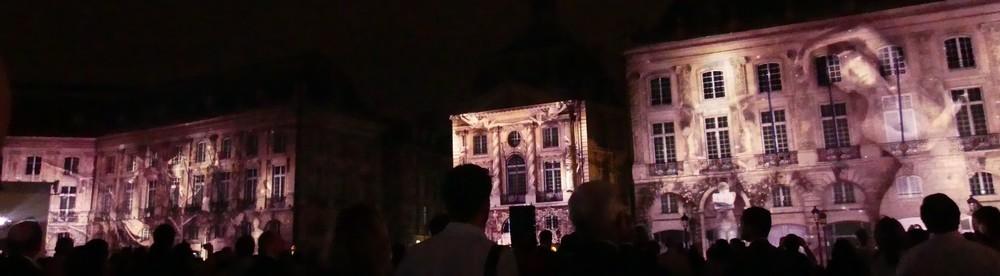 Fête du Vin 2016 à Bordeaux - Le son et lumière...