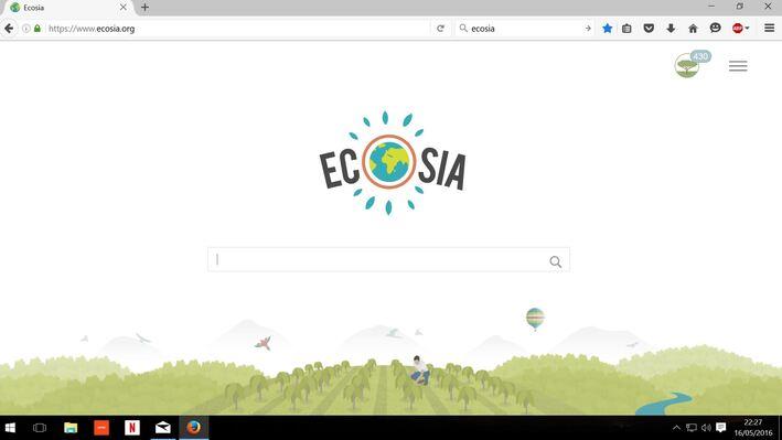 **Ecosia, un moteur de recherche écolo qui plante des arbres...