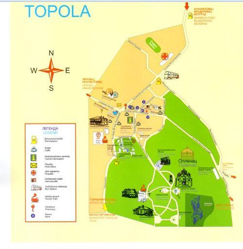 SERBIE- Topolac-Golubac-Smédérevo-NoviSad