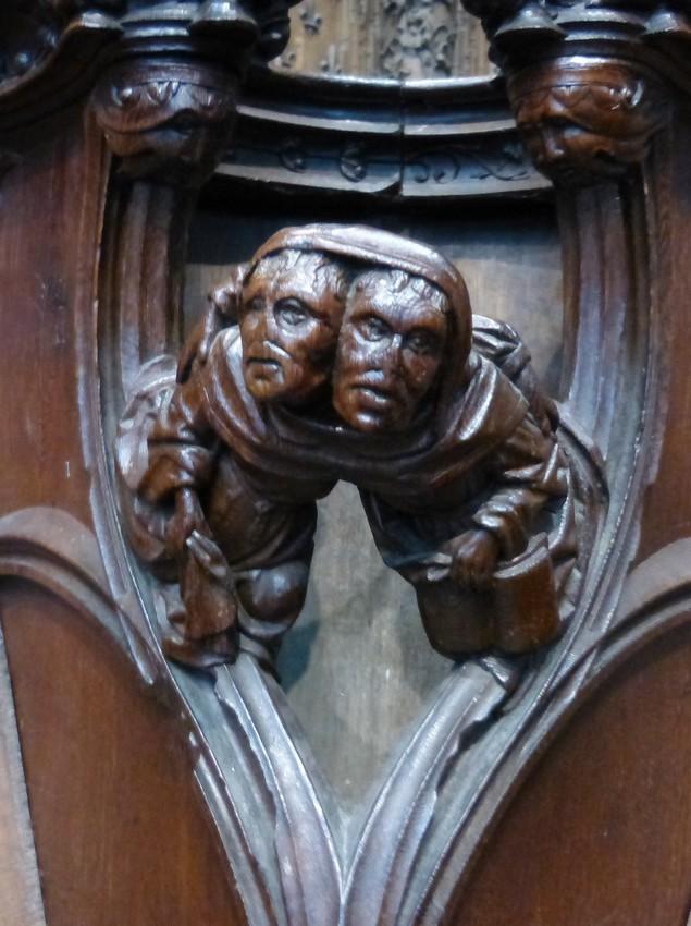 Les stalles de la cathédrale d'Amiens