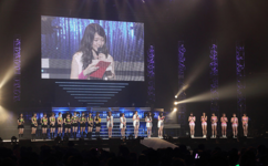 Apparition des Morning Musume à un concert du groupe S/mileage