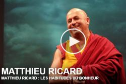 Matthieu Ricard - Les habitudes du bonheur