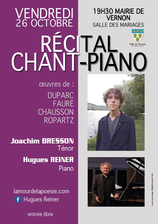 Concert VERNON Normandie Musique classique 26 octobre 2018