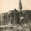 arras environs église d'hébuterne après bombardements carte 191418p