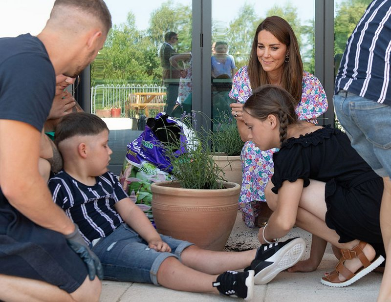 New garden for children's hospice, #ChildrensHospiceWeek