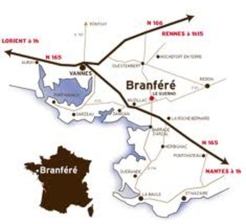 PARC DE BRANFERE LE GUERNO 56190   8/8   0412/2013