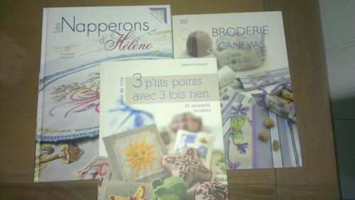 Livres broderie