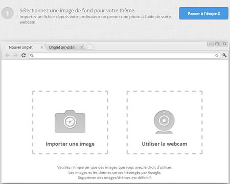 [tuto PC] Créer un thème personnalisé pour Google Chrome
