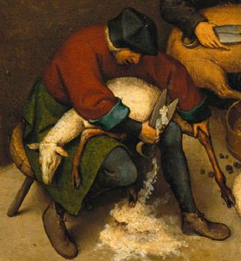 Pieter Brueghel l' Ancien, les proverbes flamands.