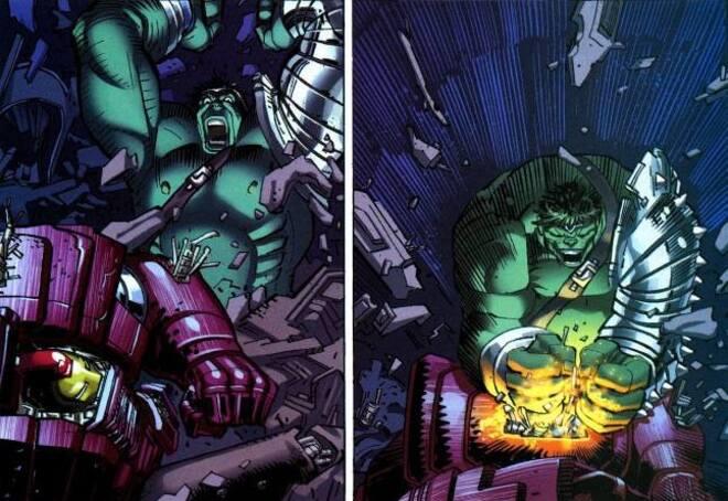 Mon avis en 10 lignes sur - World War Hulk Marvel Deluxe
