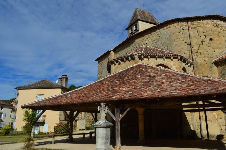 Vallée de la Dronne, village de Saint-Jean-de-Côle