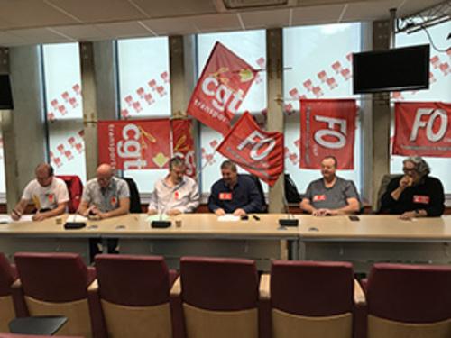 Loi Travail XXL- Les fédérations Transports CGT et FO appellent à la grève illimitée le 25 septembre (FD CGT & F0 13/09/17)