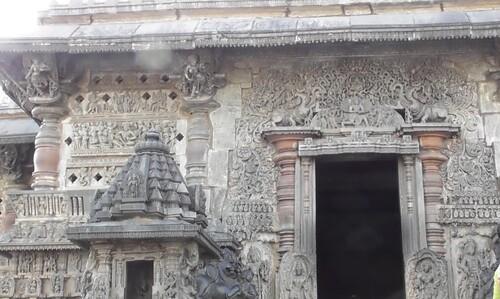 Belur, le temple Chennakeshava
