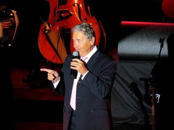 Pierre Perret a donné un magnifique concert à Chatillon sur Seine !