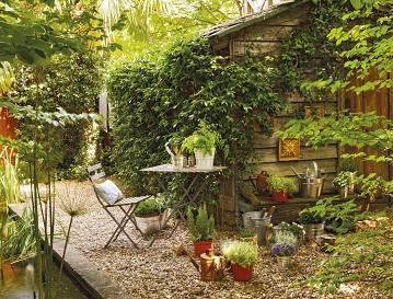 Le jardin idéal ...