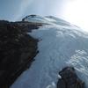Remontée de la crête qui mène au sommet de las Arroyeras