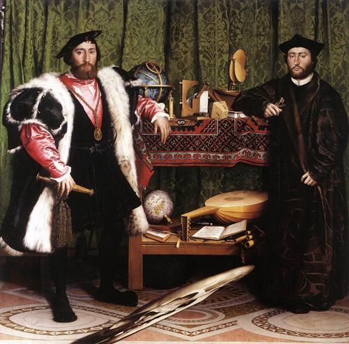 Les Ambassadeurs. Hans Holbein le Jeune. 1533.