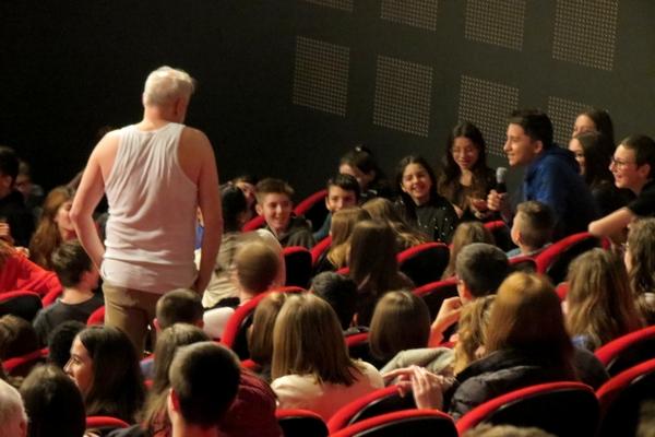 """""""Les Sentinelles"""" de, et avec Jacques Chambon ont enthousiasmé les spectateurs !"""