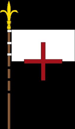 Banneret Beau Sang de l'Ordre du Christ