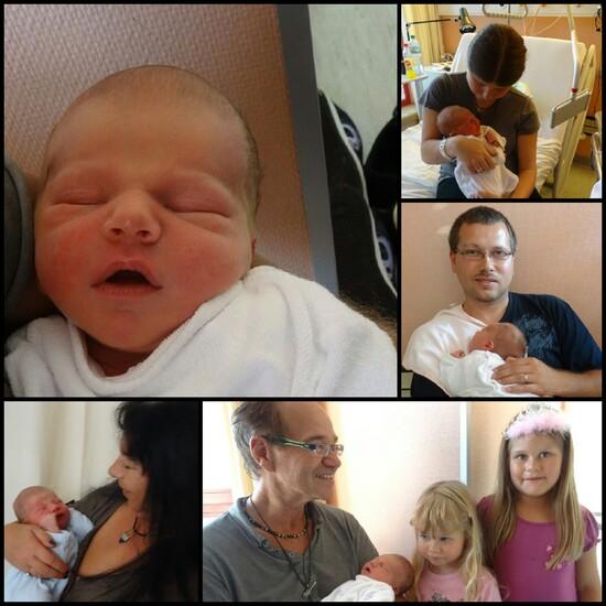 Petit Liam, pour le bonheur de toute la famille, ♥